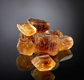 Brown caramelized sugar Royalty Free Stock Photo