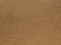 Brown cardboard background Royalty Free Stock Image