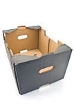 Brown  cardboard box Stock Photos
