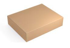 Brown cardboard box Royalty Free Stock Photos