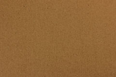 Brown cardboard structure Stock Photography