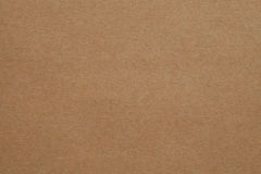 Brown Cardboard Texture Royalty Free Stock Photography