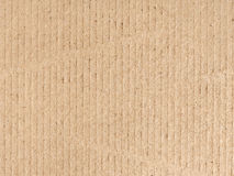 Brown cardboard texture Royalty Free Stock Image