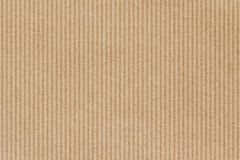 Brown cardboard texture. Or background. Corrugated, paper sheet Royalty Free Stock Photography