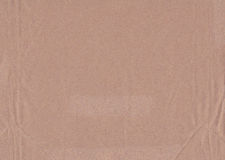 Brown cardboard texture Royalty Free Stock Images