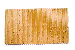 Brown cardboard on a white background Royalty Free Stock Photos