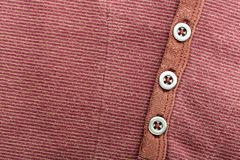 Brown cardigan background Stock Photography
