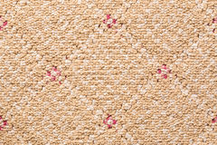 Brown carpet background Royalty Free Stock Photo
