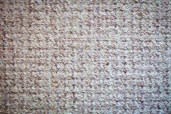 Brown carpet background. Textile texture. Royalty Free Stock Photography