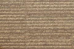 Brown carpet closeup Royalty Free Stock Photography