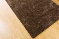 Brown carpet at home Royalty Free Stock Images