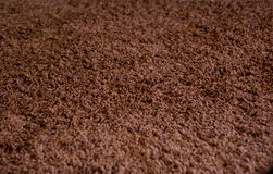 Brown carpet texture Royalty Free Stock Photo