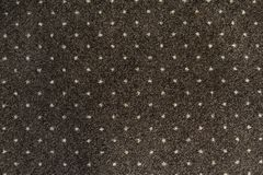 Brown carpet with a white dots texture. Indoor carpeting shoot in daylight. royalty free stock images