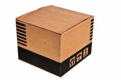 Brown carton box. Stock Images