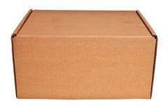 Brown carton box. Royalty Free Stock Photo