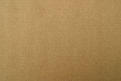 Brown carton paper Stock Image