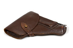 Free Brown Case For Makarov Pistol Royalty Free Stock Photo - 12073565