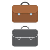 Brown Case Icon Stock Images