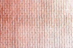 Brown cegły tło Zdjęcia Royalty Free