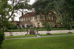 Brown cegły dom Zdjęcie Royalty Free