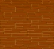 Brown cegieł bezszwowy wzór Obrazy Royalty Free