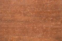 Brown cementu ściany tekstury Zdjęcia Royalty Free