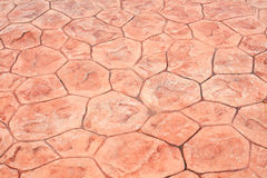 Brown ceramic floor tiles Royalty Free Stock Photos