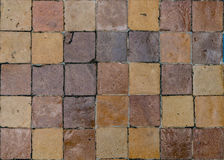 Brown ceramic tile Royalty Free Stock Photo