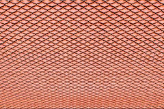 Brown ceramic tile roof  texture for background Stock Photo