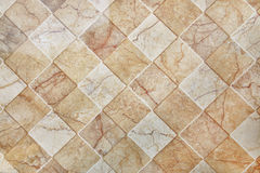 brown ceramic tile texture for pattern and background Stock Photography