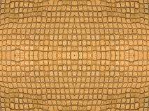 Brown ceramic tiles symmetrical background. Royalty Free Stock Photo