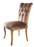 Brown chair royalty free stock photos