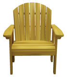 The brown chair Royalty Free Stock Photo