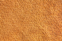Brown chamois texture. Old leather, brown chamois texture Royalty Free Stock Photos