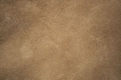Brown chamois texture. Fluffy and soft Royalty Free Stock Photo