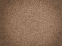Brown chamois texture. Fluffy and soft material Royalty Free Stock Photo