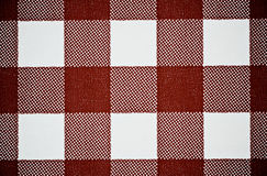 Brown Checkered Background Stock Images