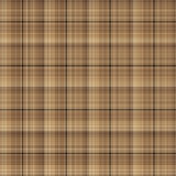 Brown-Checkered Muster Lizenzfreies Stockbild