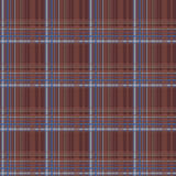 Brown checkered seamless pattern Royalty Free Stock Photos