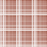 Brown checkered seamless pattern Stock Photography