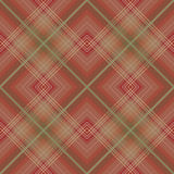 Brown checkered seamless pattern Royalty Free Stock Images
