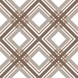 Brown checkered seamless pattern repeat Royalty Free Stock Photo