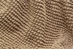 Brown Chenile Rug. Closeup view of brown chenile rug Royalty Free Stock Photos