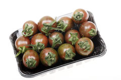 Brown Cherry Tomatoes Stock Photography