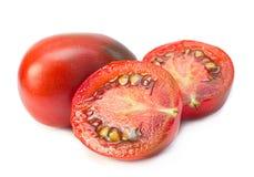 Brown cherry tomatoes Stock Photo