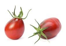 Brown cherry tomatoes Stock Photos