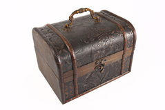Brown chest Royalty Free Stock Photography