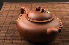 brown Chiński teapot Zdjęcia Royalty Free