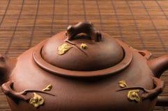 brown Chiński teapot Zdjęcia Stock