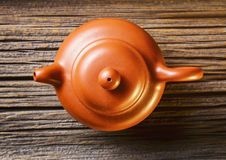 brown Chiński teapot Fotografia Stock